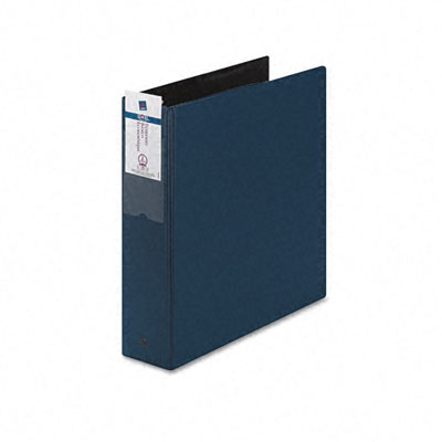 "Economy Round Ring Reference Binder, 2"" Capacity, Blue"