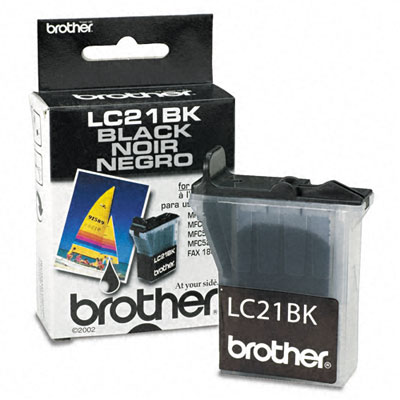 LC21BK Ink, 950 Page-Yield, Black
