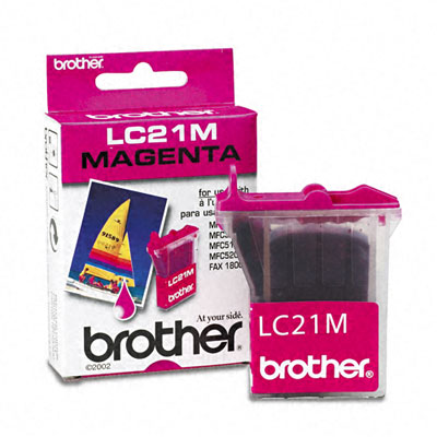LC21M Ink, 450 Page-Yield, Magenta