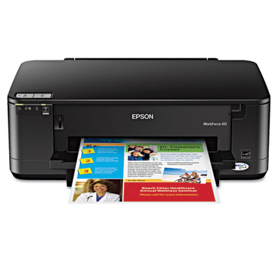 WorkForce 60 Wireless Inkjet Printer