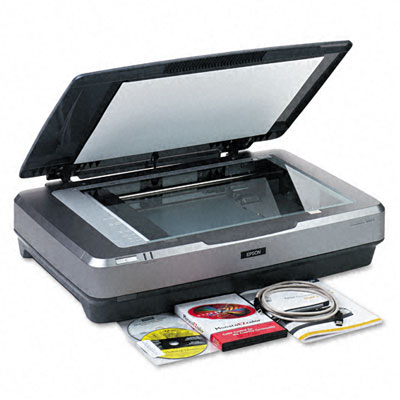 Expression 10000XLGA Graphic Arts Flatbed Scanner, 2400 x 4800dpi