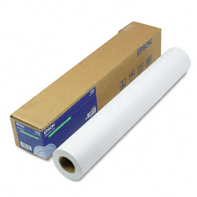 "Doubleweight Matte Paper, 24"" x 82 ft, White"