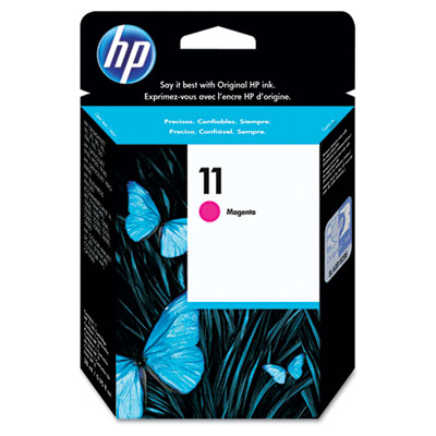 C4837A (HP 11) Ink, 2350 Page-Yield, Magenta