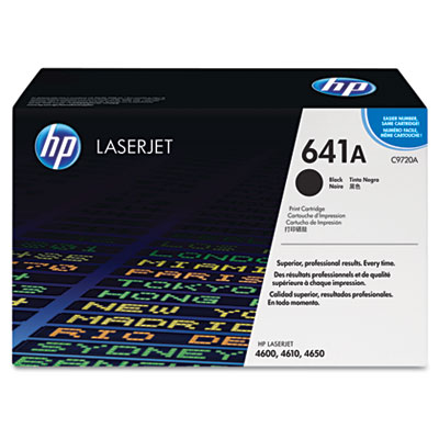 C9720A Toner, 9000 Page-Yield, Black