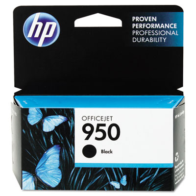 CN049AN140 (HP 950) Ink, 1000 Page-Yield, Black