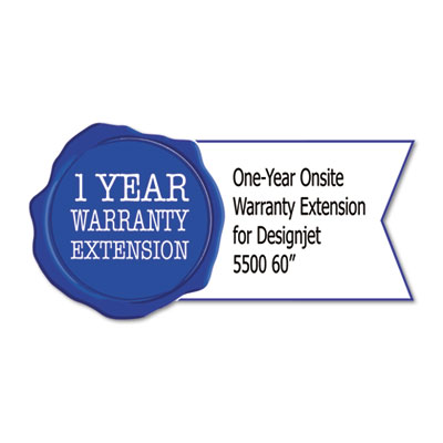 "1-Yr Post-Warranty Next Business Day Onsite Care Pack for Designjet 5500 (60"")"