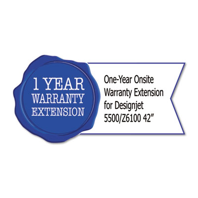 "1-Yr Post-Warranty Next Business Day Onsite Care Pack for Designjet Z6100 (42"")"