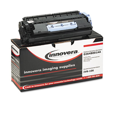 106 Compatible Toner, 5000 Page-Yield, Black