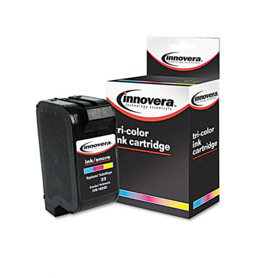 1823D Compatible Remanufactured Ink, 620 Page-Yield, Tri-Color