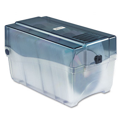 CD/DVD Storage Case, Holds 150 Disks