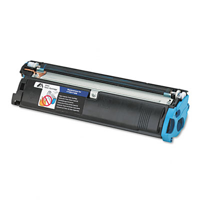 587007 Compatible Remanufactured Toner, 4500 Page-Yield, Cyan