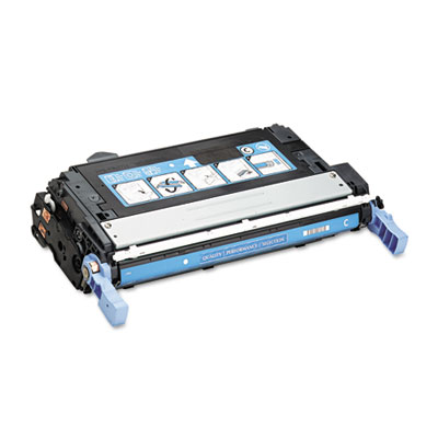 6461A Compatible Toner, 12000 Page-Yield, Cyan