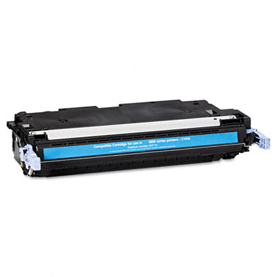 6471A Compatible Remanufactured Toner, 4000 Page-Yield, Cyan