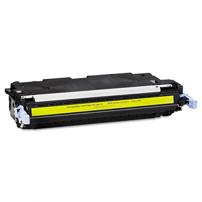 6472A Compatible Remanufactured Toner, 4000 Page-Yield, Yellow