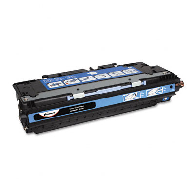 83071A Compatible Remanufactured Toner, 4000 Page-Yield, Cyan