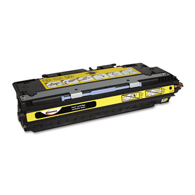 83072A Compatible Remanufactured Toner, 4000 Page-Yield, Yellow