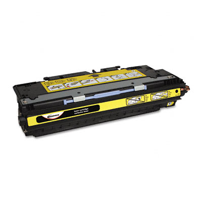 83082A Compatible Remanufactured Toner, 4000 Page-Yield, Yellow