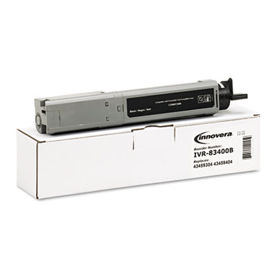 83400B Compatible High-Yield Toner, 21000 Page-Yield, Black