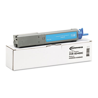 83400C Compatible High-Yield Toner, 2000 Page-Yield, Cyan
