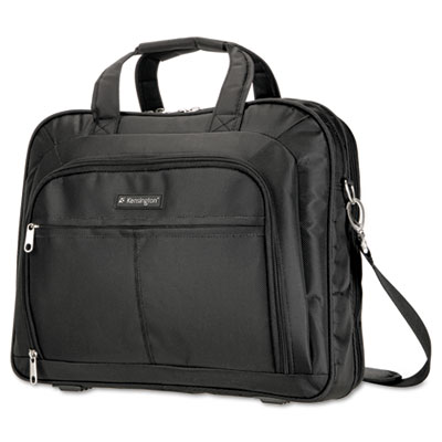 Simply Portable 80 Deluxe Laptop Case, 16-3/4 x 4 x 13-1/2, Nylon, Black