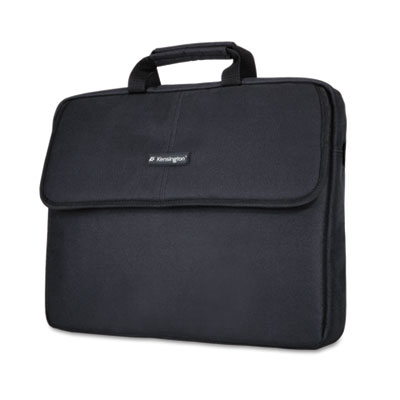 "SP 17 17"" Laptop Sleeve, Padded Interior, Interior/Exterior Pockets, Black"