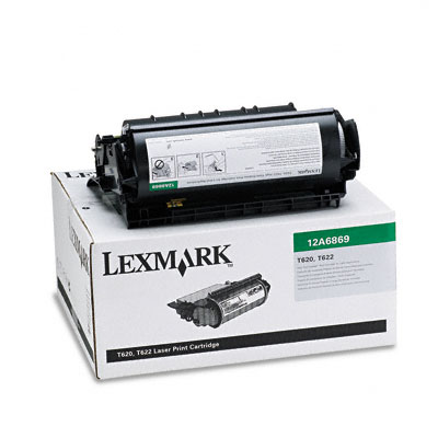 12A6869 High-Yield Toner for Labels, 30000 Page-Yield, Black