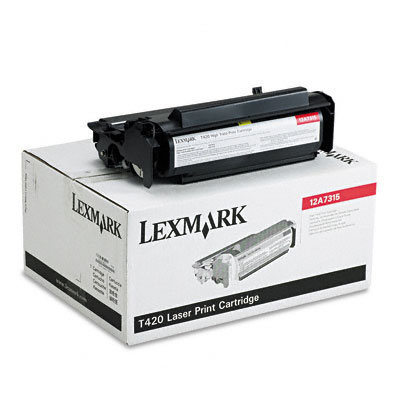 12A7315 High-Yield Toner, 10000 Page-Yield, Black