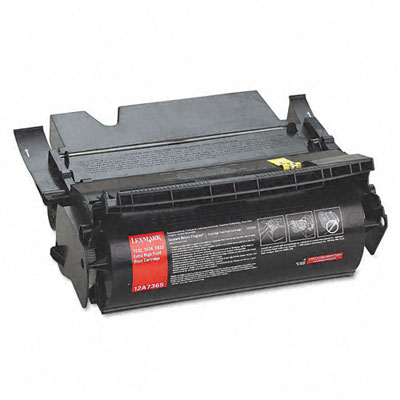 12A7365 Extra High-Yield Toner, 32000 Page-Yield, Black