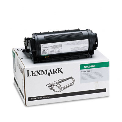 12A7469 Extra High-Yield Toner, 32000 Page-Yield, Black
