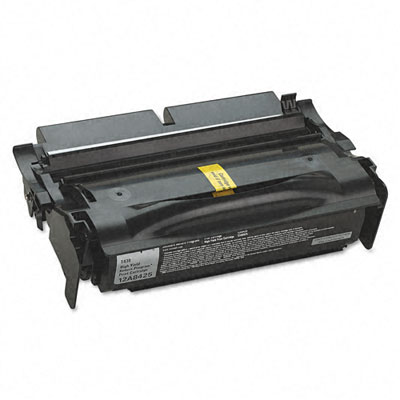12A8425 High-Yield Toner, 12000 Page-Yield, Black