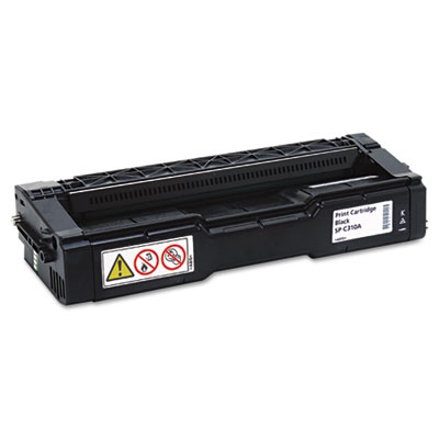 406344 Toner, 2500 Page-Yield, Black