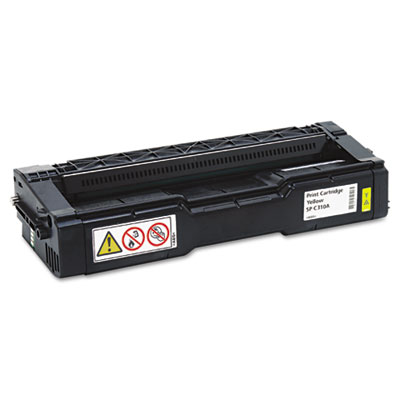 406347 Toner, 2500 Page-Yield, Yellow