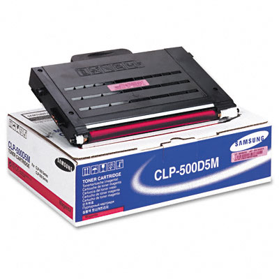CLP500D5M Toner, 5000 Page-Yield, Magenta
