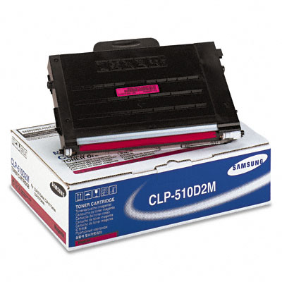 CLP510D2M Toner, 2000 Page-Yield, Magenta