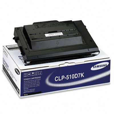 CLP510D7K High-Yield Toner, 7000 Page-Yield, Black