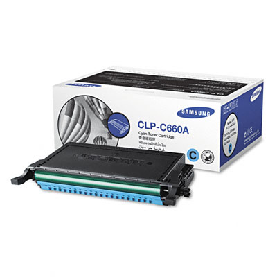 CLPC660A Toner, 2000 Page-Yield, Cyan