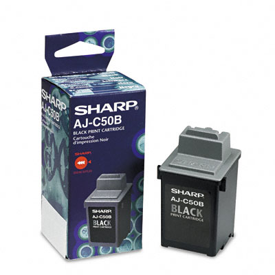 AJC50B Ink, 600 Page-Yield, Black