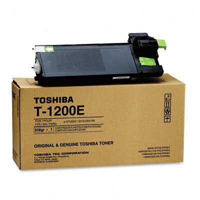 T1200 Toner, 6500 Page-Yield, Black