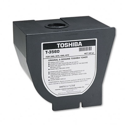 T3560 Toner, 13000 Page-Yield, Black
