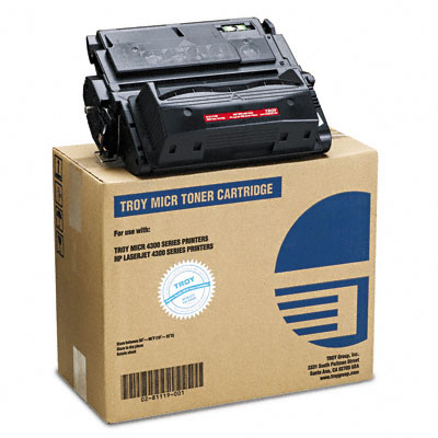 0281119001 Compatible MICR Toner Secure, 19,500 Page-Yield, Black