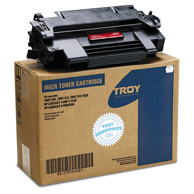 0217310001 Compatible MICR Toner Secure, 5,000 Page-Yield, Black