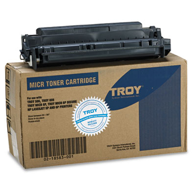 0218583001 Compatible MICR Toner Secure, 4,250 Page-Yield, Black