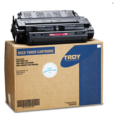0281023001 Compatible MICR High-Yield Toner Secure, 25,000 Page-Yield, Black