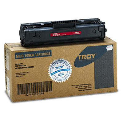 0281031001 Compatible MICR Toner Secure, 2,500 Page-Yield, Black