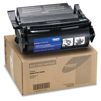0281071001 Compatible MICR Toner Secure, 16,000 Page-Yield, Black