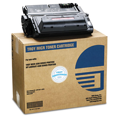 0281118001 Compatible MICR Toner Secure, 13,500 Page-Yield, Black
