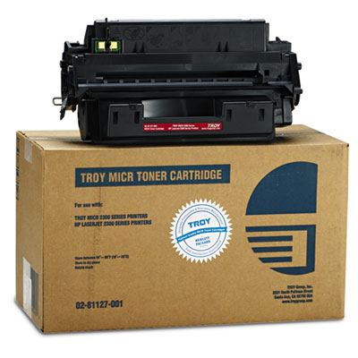 0281127001 Compatible MICR Toner Secure, 6,300 Page-Yield, Black