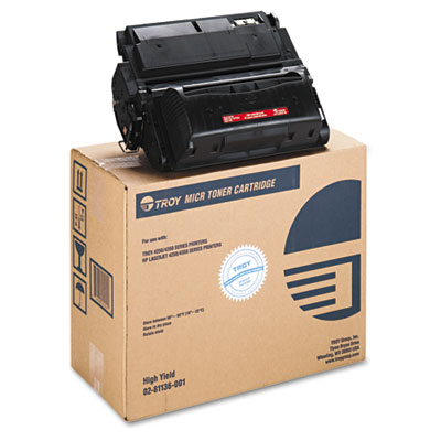 0281136001 Compatible MICR Toner Secure, High-Yield, 20,000 Page-Yield, Black