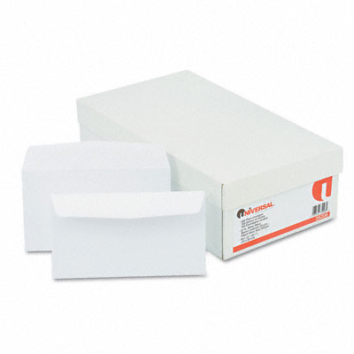 Business Envelope, Contemporary, #6, White, 500/Box