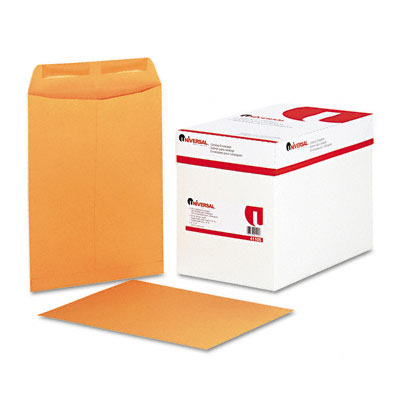 Catalog Envelope, Center Seam, 9 x 12, Light Brown, 250/Box